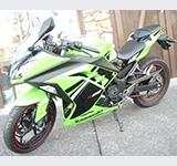 レンタルバイク/ニンジャ250